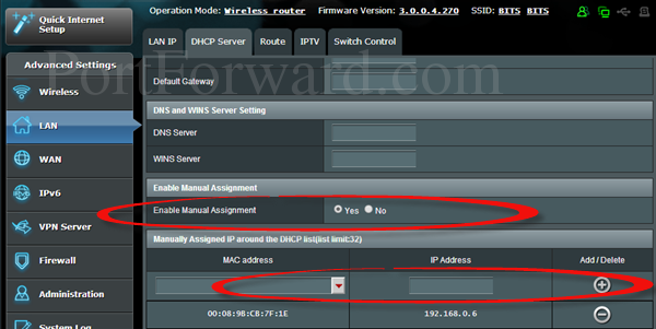 asus-ip-manually-assign