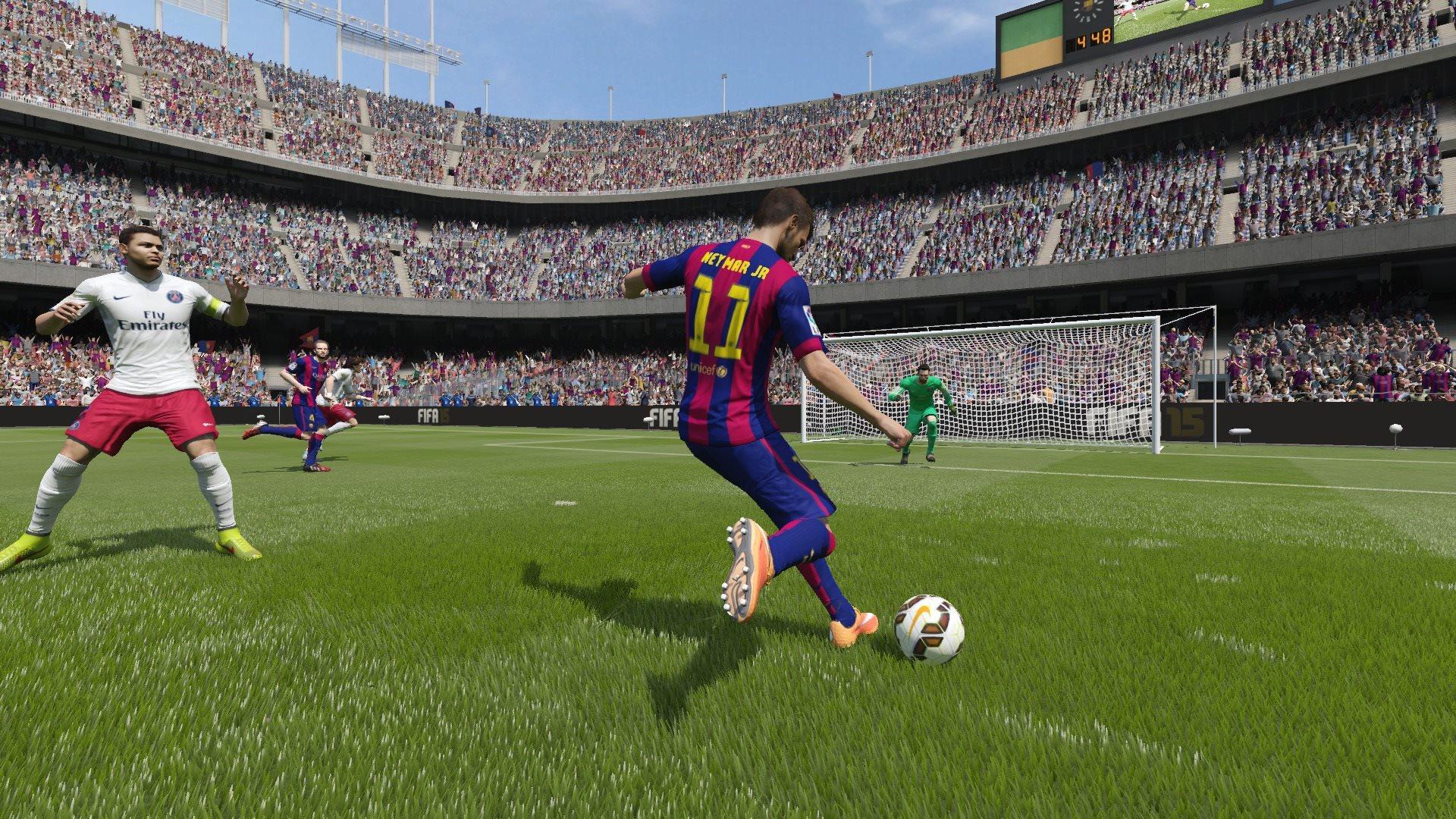 Баг с невидимым игроком, вышедшем на замену в FIFA 15 – как исправить