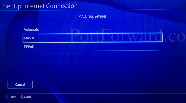 ps4-ip-address-manual