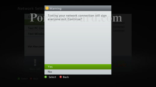Xbox-360-Test-Live-Warning