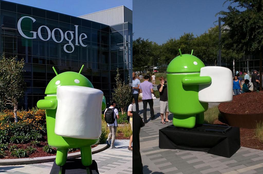 Новое название следующей версии Android M – Marshmallow («Зефир»)