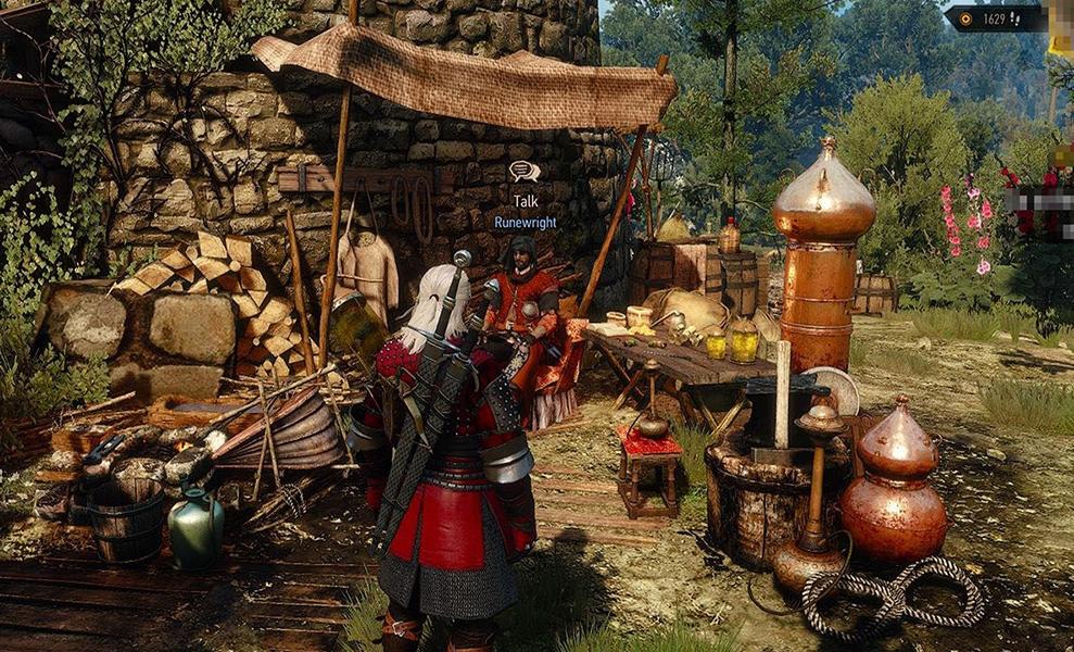 Как отыскать нового персонажа The Witcher 3: Hearts of Stone — Рунописца