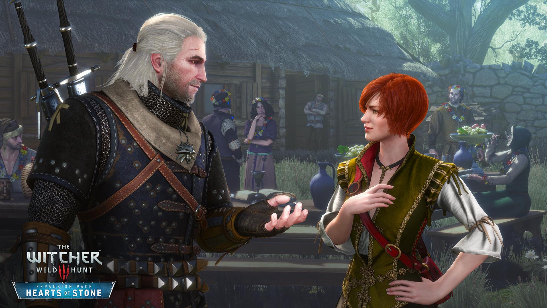 Как соблазнить красавицу Шани в новом дополнении The Witcher 3: Hearts of Stone