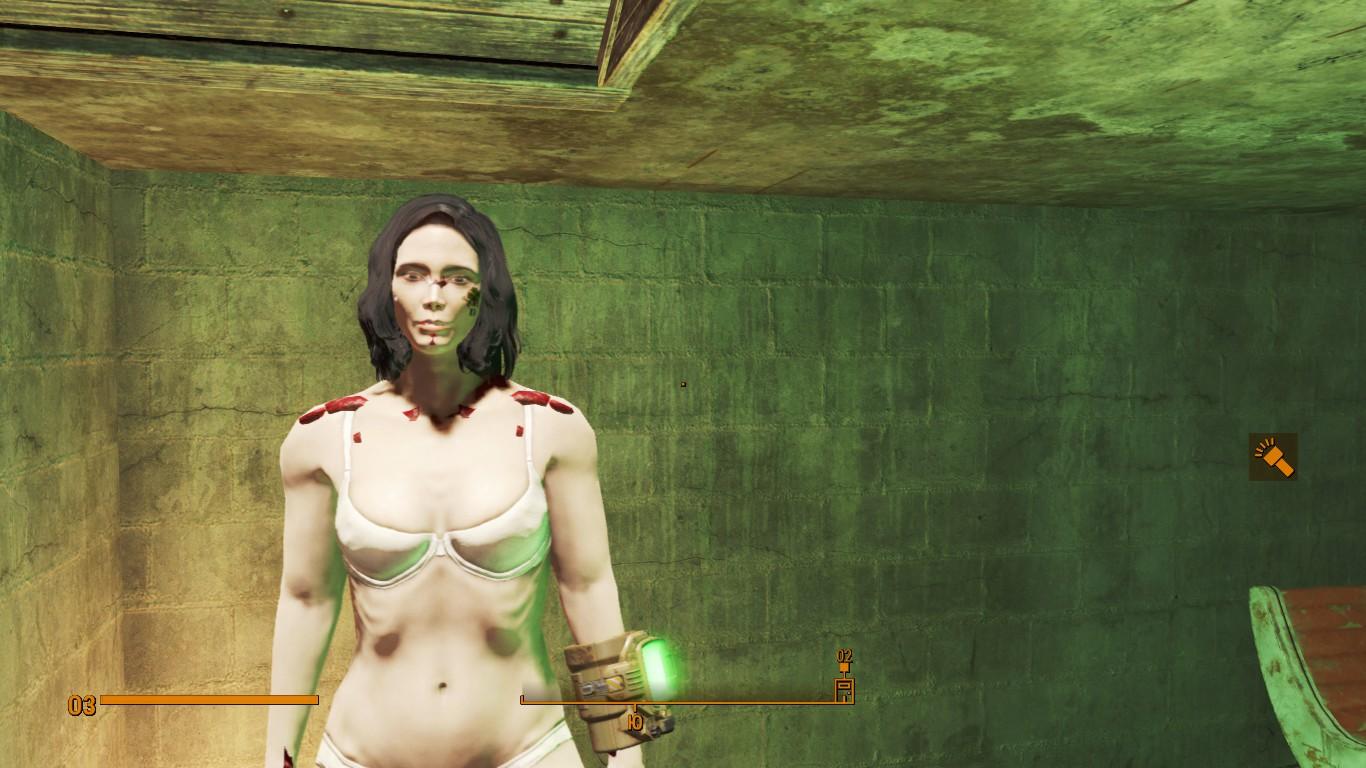 Что делать, если при прохождении Fallout 4 персонаж вдруг стал выглядеть странно и даже некрасиво?