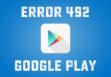 ошибка 492 в Google Play