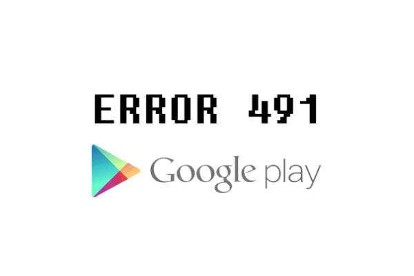 ошибка 491