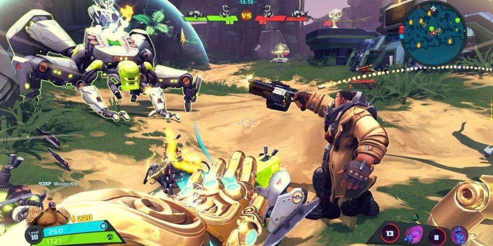 battleborn gameplay footage