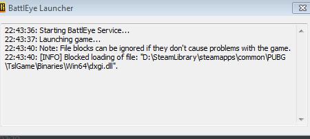 blocked loading of file dxgi.dll