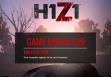 H1Z1 ошибка G19