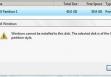 невозможно установить Windows на этот диск GPT