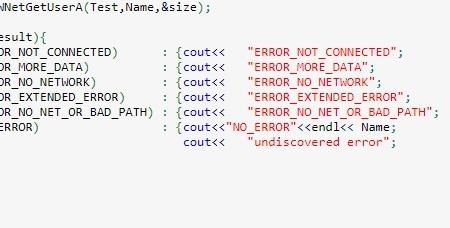 ERROR_NOT_CONNECTED
