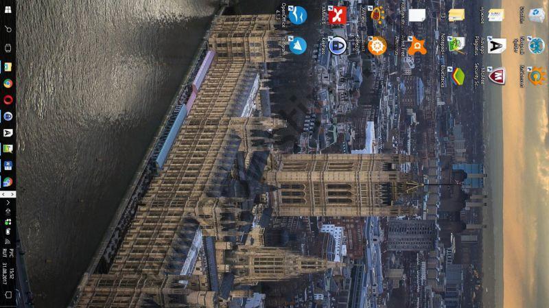 Перевернутый экран на лептопе