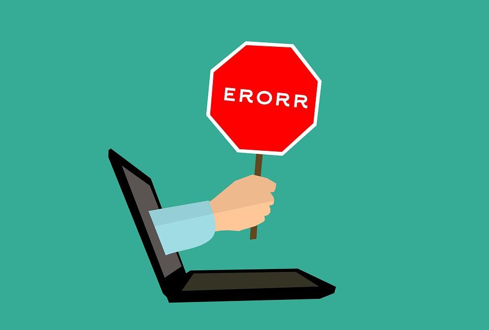 Ошибки на компьюторе