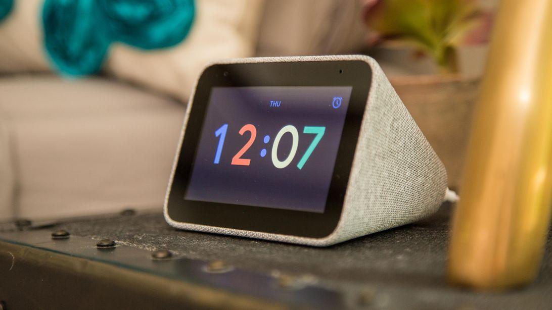 Умные настольные часы Lenovo Smart Clock