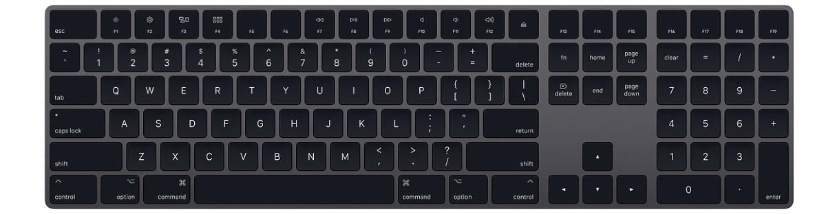 Apple Magic Keyboard with Numeric Keypad (MRMH2RS/A)