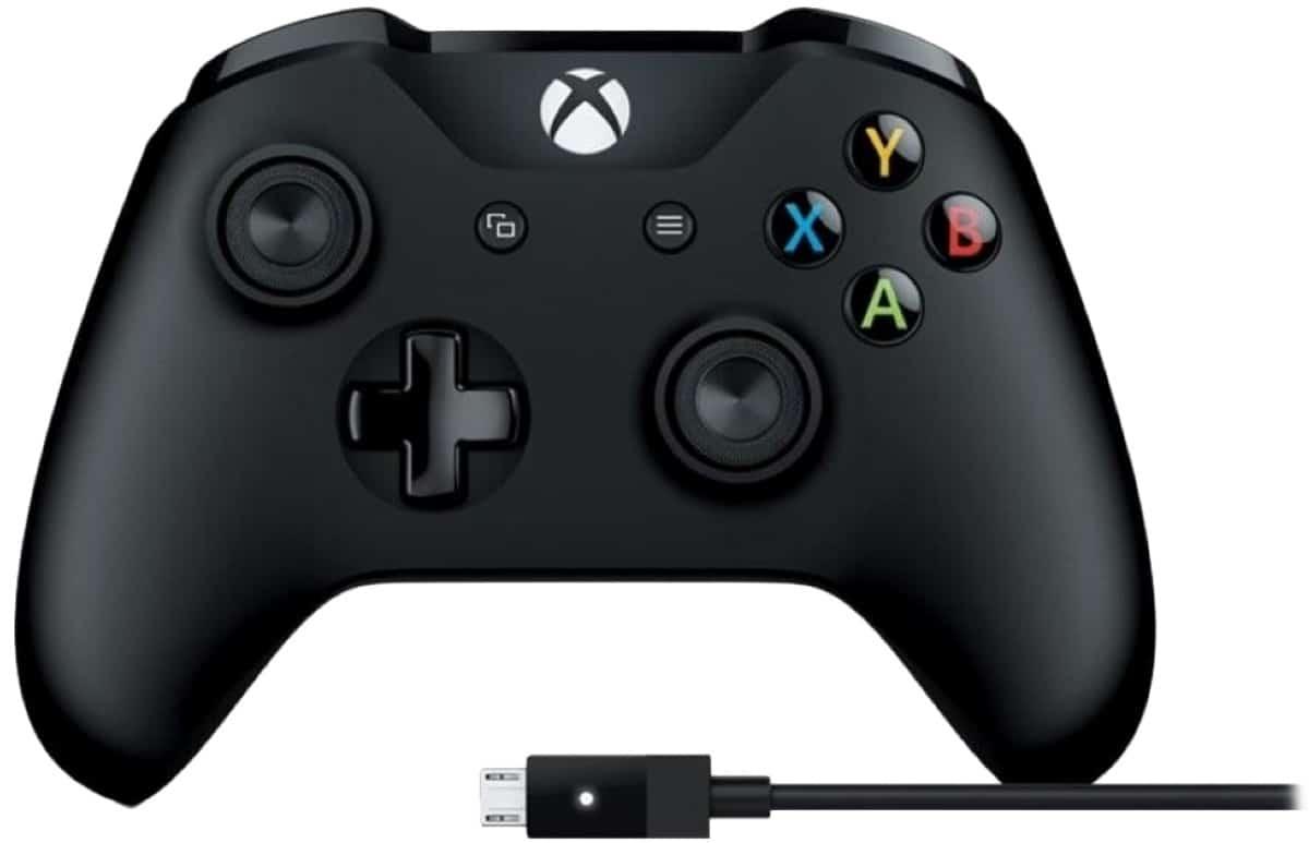 Microsoft Xbox One Controller + USB