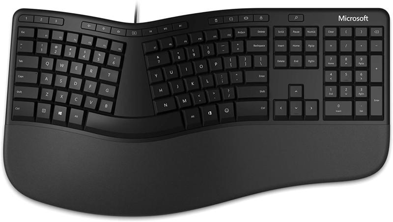 Microsoft Ergonomic Black