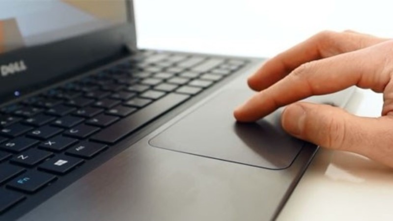 touchpad on laptop