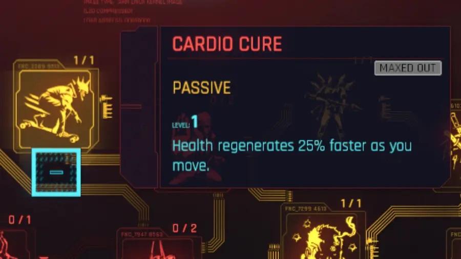 Cyberpunk 2077 Cardio Cure