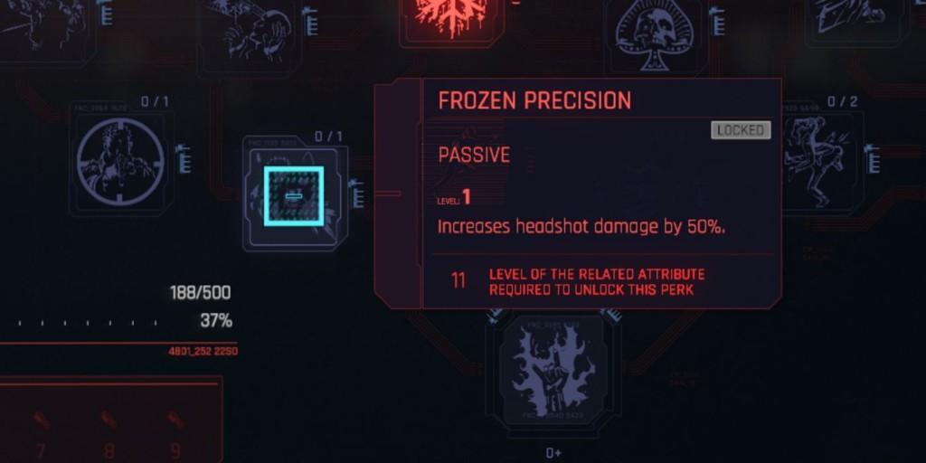 Cyberpunk 2077 Frozen Precision