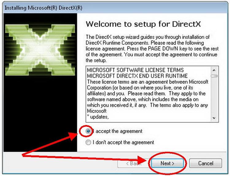 reinstall DirectX 12
