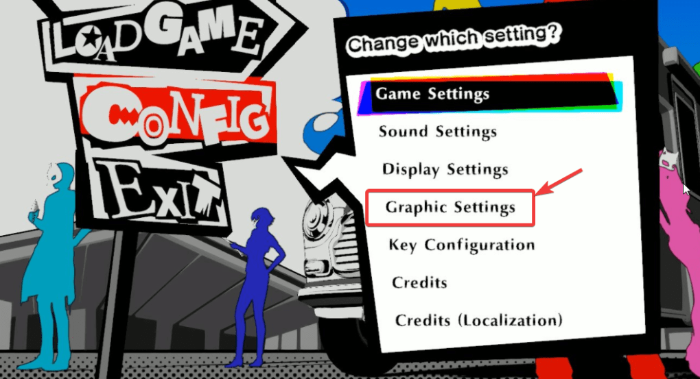 blurry interface and graphics in Persona 5 Strikers