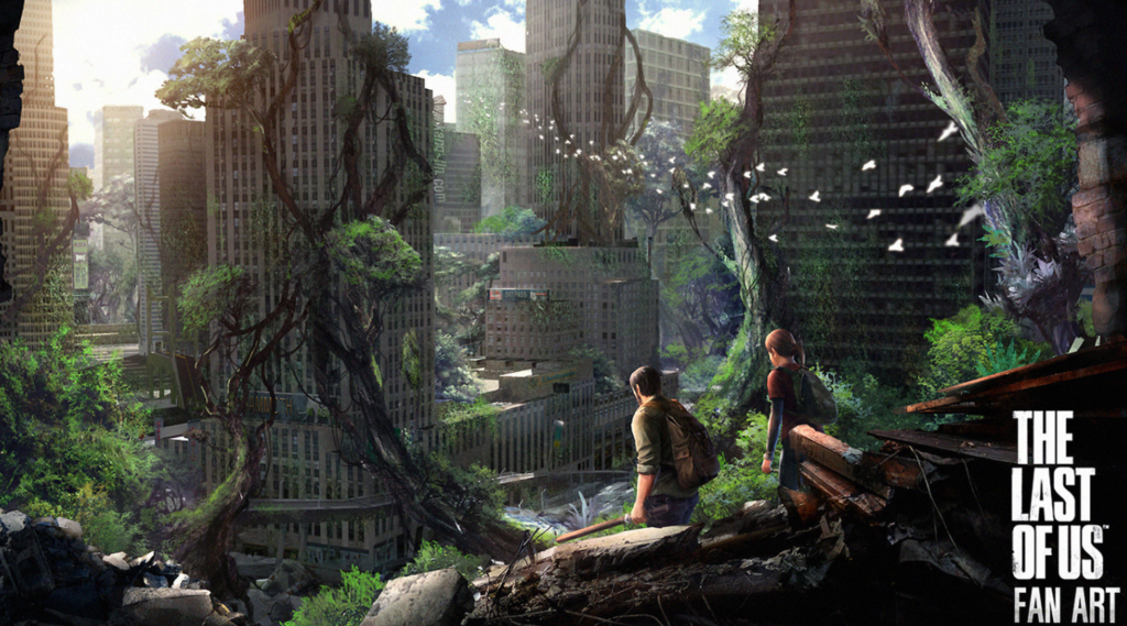 The world from any high point The Last of Us