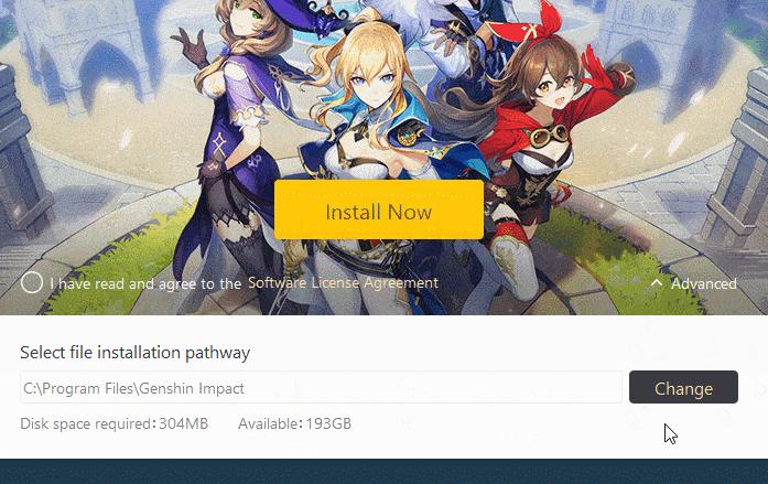 """Launcher Program Error"""" in Genshin Impact"""