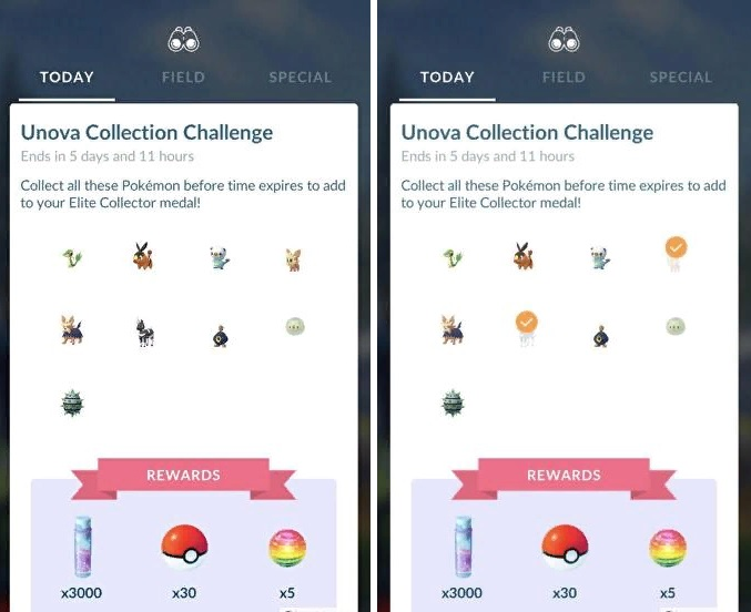 How to build the Spring Collection in Pokemon Go?