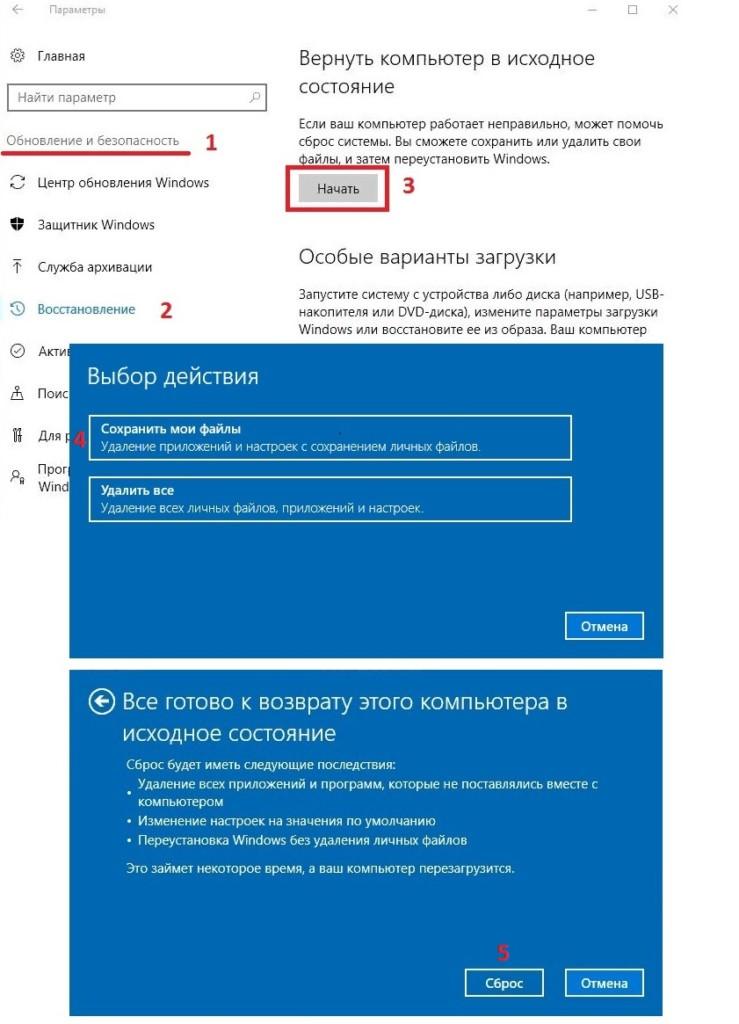 Windows 10 automatic recovery stuck