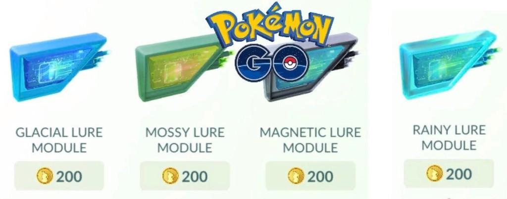 Rain Lure Module in Pokemon Go