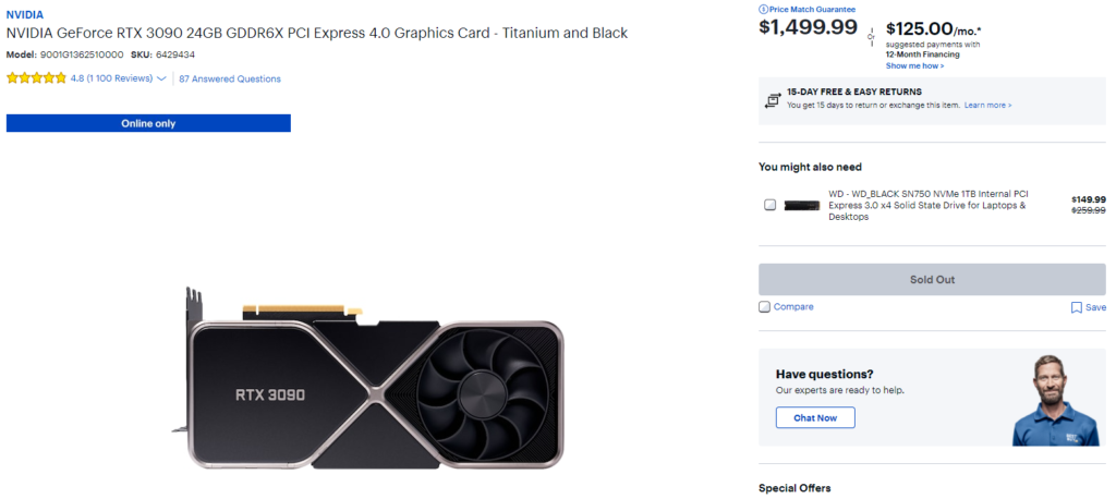 prices for video cards
