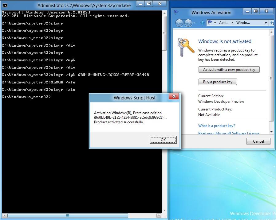 Error 0xc004f069 when activating Windows