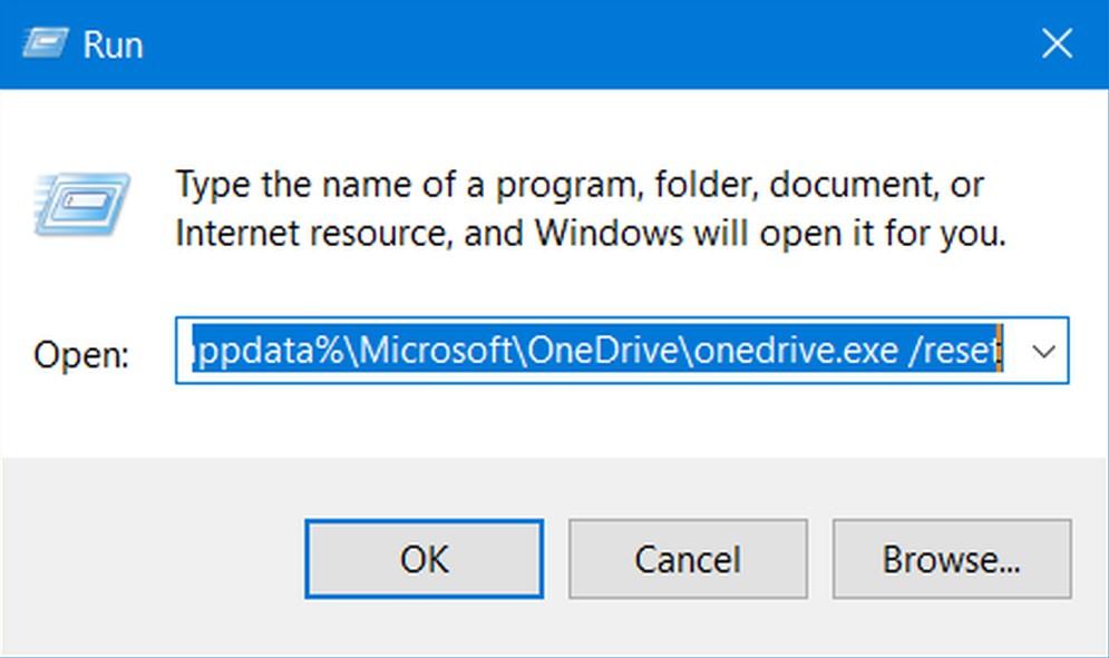 How to fix error 0x8004de40 OneDrive